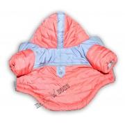 Куртка на Флисовой подкладке Коралловая Двухцвет