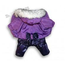 Комбинезон «Снежинка» Сиреневый для девочки