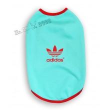 Футболка  «Adidas» Ментоловая