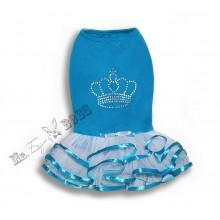 Платье «Корона» Голубое