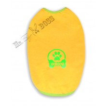 Футболка «Adidog» Желтая