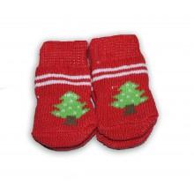 Носки для собаки Красные