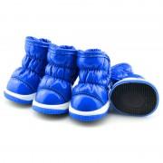 Зимние сапоги «Дутики» Синие