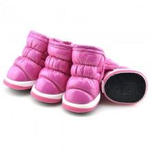 Зимние сапоги «Дутики» Розовые