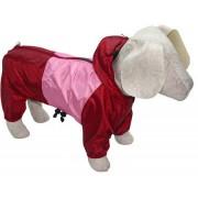 Дождевик для собаки Розовый