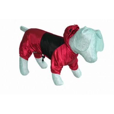 Дождевик для собаки Красный