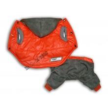 """Комбинезон-трансформер с отстегивающимися штанами """"Спорт"""" (Оранжевый)"""