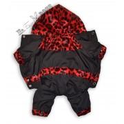 """Дождевик """"Красный леопард"""" Без подкладки"""