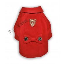 Кашемировое  пальто Красное