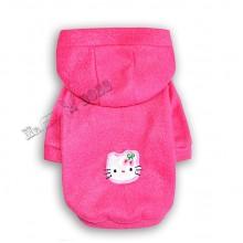 Флисовая Пайта «Hello Kitty» Малиновая