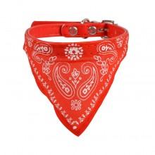 Ошейник «Платок» Красный