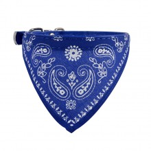 Ошейник «Платок»  Синий