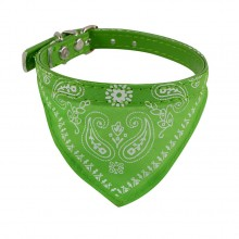 Ошейник «Платок» Зеленый